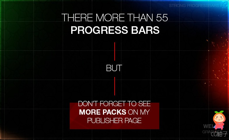50+ Progress Bars [Pack 4] — DANGEROUS PROGRESS 1.0 unity3d asset