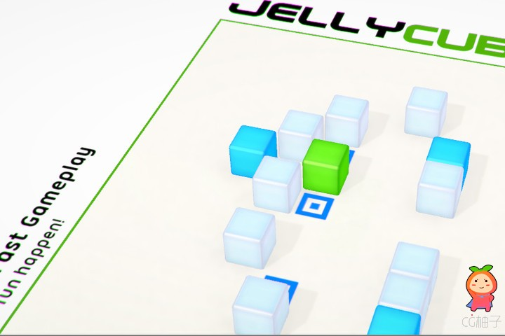 Jelly Cube Game Starter Kit