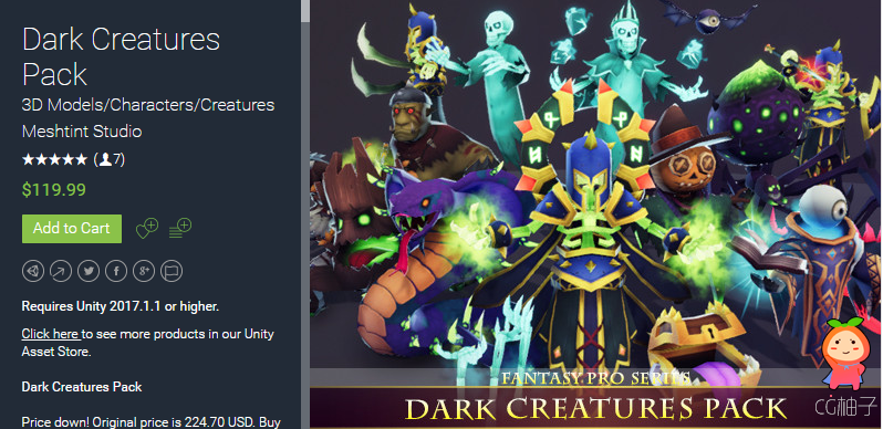 Dark Creatures Pack 1.2