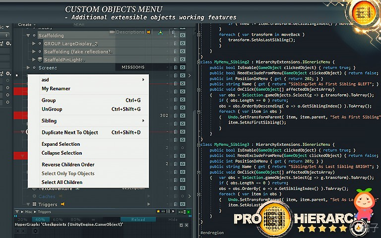 Hierarchy PRO - Auto HighLighter