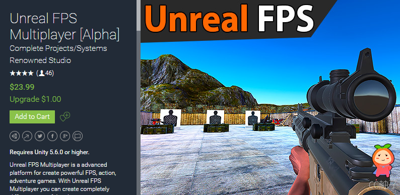 Unreal FPS Multiplayer [Beta] 1.13