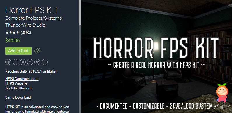 Horror FPS KIT 1.5