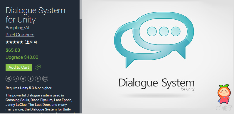 Dialogue System for Unity 2.1.5
