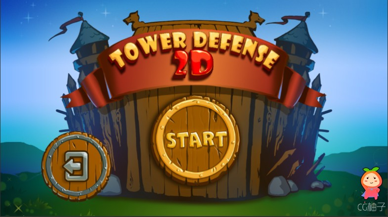 Tower Defense 2D 1.3.1 塔楼防御游戏项目