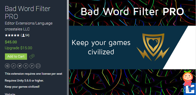 Bad Word Filter PRO 2019.1.4