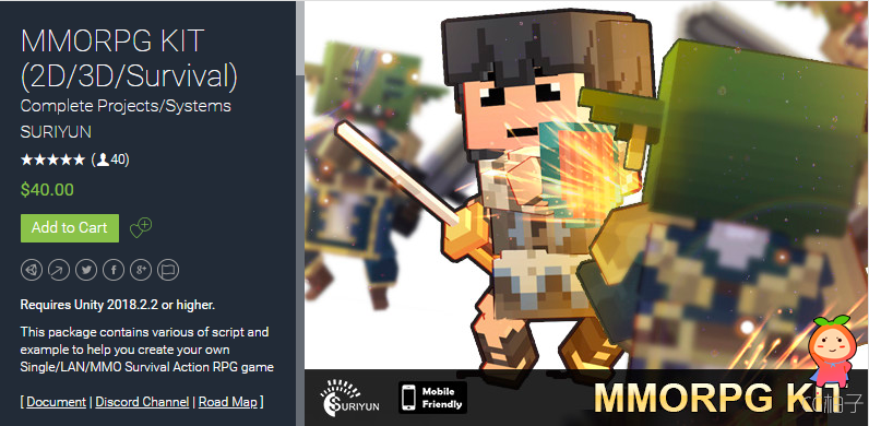 MMORPG KIT (2D3DSurvival) 1.43c