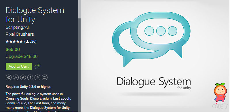 Dialogue System for Unity 2.1.6