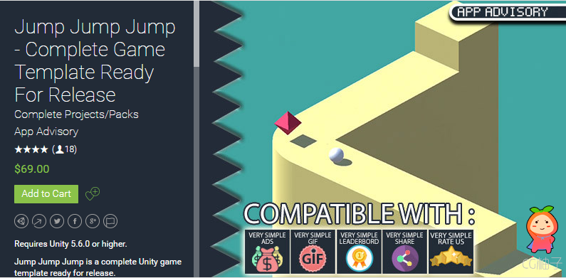 Jump Jump Jump - Complete Game Template 1.0.2