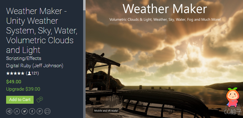 Weather Maker - Unity Weather System 5.7.4