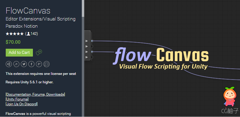 FlowCanvas Visual Scripting 2.9.4