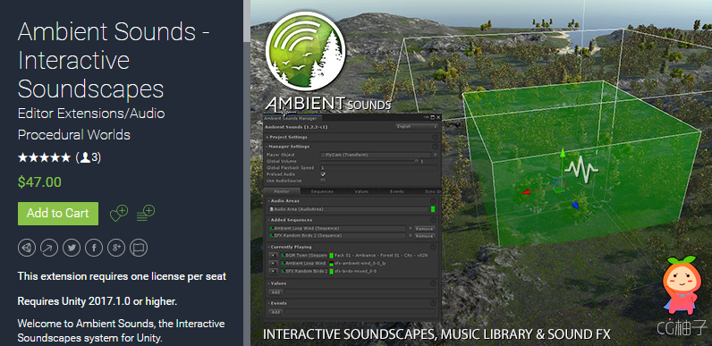 Ambient Sounds - Interactive Soundscapes 1.2.3