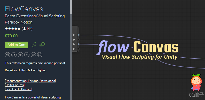 FlowCanvas Visual Scripting 2.9.6