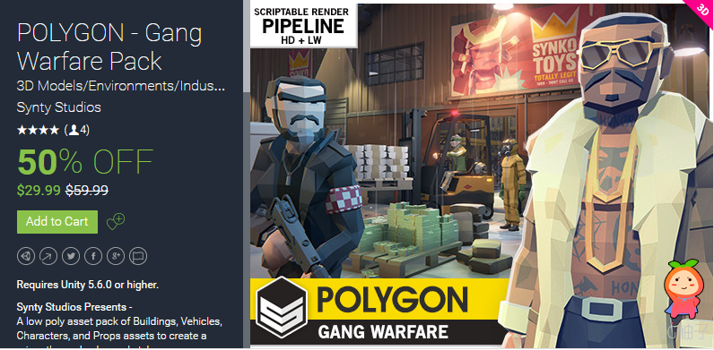 POLYGON - Gang Warfare Pack 1.0
