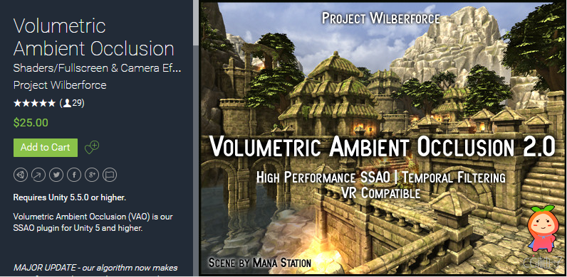 Volumetric Ambient Occlusion 2.0
