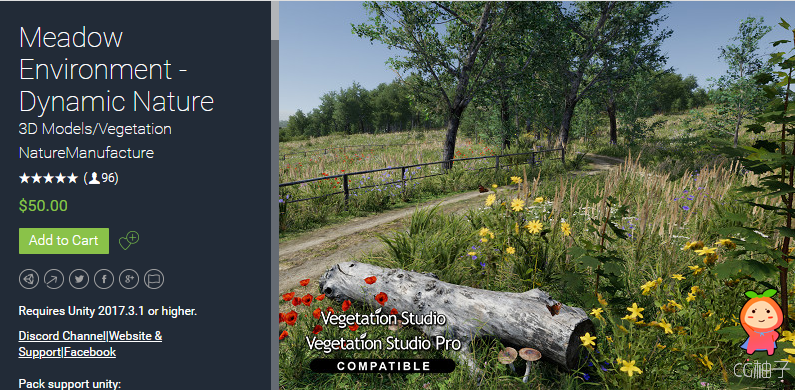 Meadow Environment - Dynamic Nature 2.0f1