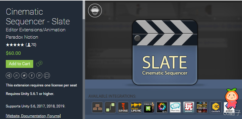 Cinematic Sequencer - SLATE