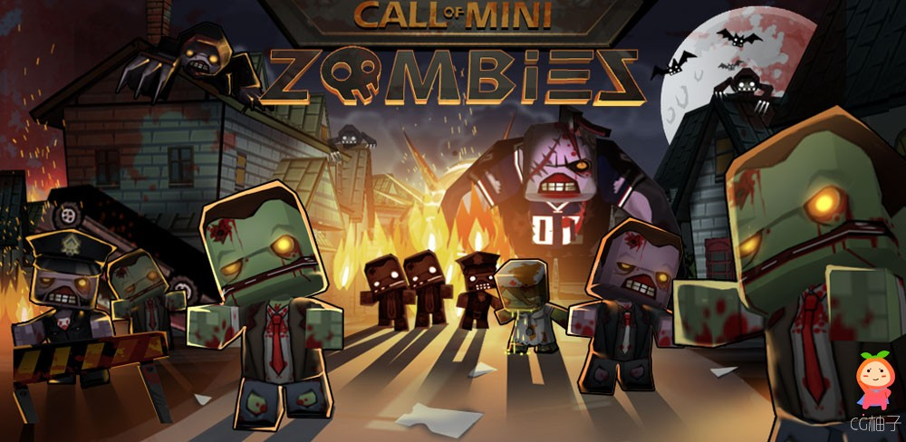 Call of Mini Zombies Unity Source Code