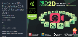 Pro Camera 2D - The definitive 2D & 2.5D Unity camera plugin 2.6.11 相机插件