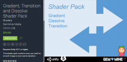 Gradient, Transition and Dissolve Shader Pack 1.3 着色插件