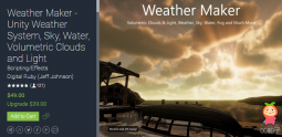 Weather Maker - Unity Weather System 5.8.3 天气制造插件