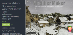 Weather Maker - Sky, Weather, Water, Volumetric Light 3.8.1 unity3d asset