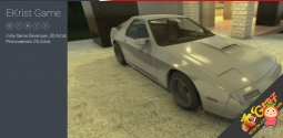 Tuner Car #3 Model Kit 1.0 unity3d asset Unity3d汽车模型 iOS开发