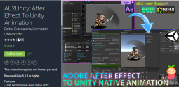 AE2Unity After Effect To Unity Animation 2.8 编辑器下载