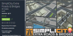 SimpliCity Extra Roads & Bridges 1.03 道路立交桥梁模型