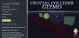 Crucial Collider Gizmo 1.5 Unity编辑器 U3D插件