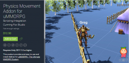 Physics Movement Addon for uMMORPG unity3d asset unitypackage插件 U3D论坛