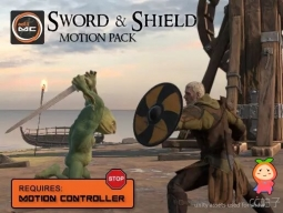 Sword & Shield Motion Pack  0.392