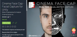 Cinema Face Cap - Facial Capture for Unity 0.9.3.2 面部动画编辑器