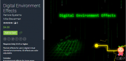 Digital Environment Effects 1.0 unity3d asset U3D插件 ios开发
