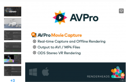 AVPro Movie Capture 3.7.4 Unity游戏视频录制工具