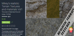Mikey's realistic Terrain Textures and materials Vol1 1.2现实地形纹理