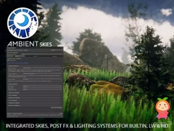 Ambient Skies - Skies Post FX Lighting 1.6.4 天空照明系统