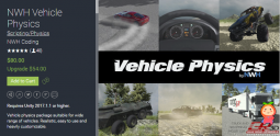 NWH Vehicle Physics 1.4 unity3d asset Unity3d编辑器 unity3d插件下载