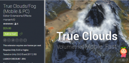 True CloudsFog (Mobile & PC) 1.1 unity3d asset Unity编辑器下载 U3D插件