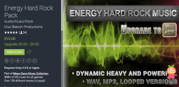 Energy Hard Rock Pack 1.6 游戏音效声效