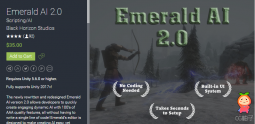 Emerald AI 2.0 unity3d asset Unitypackage插件下载 unity论坛