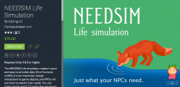 NEEDSIM Life Simulation 1.1 生命模拟脚本