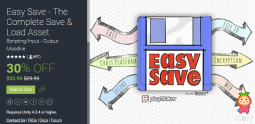 Easy Save 2.8.4p1 unity3d asset unity3d官网 Unitypackage插件论坛
