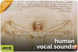 Human Vocal Sounds 1.0 男性和女性的不同声音效