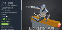Third Person Controller - Basic Locomotion Template 2.4.2