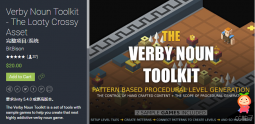The Verby Noun Toolkit 1.2 unity3d asset Unity教程 unity插件官网