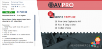 AVPro Movie Capture 2.72 unity3d asset U3D插件下载