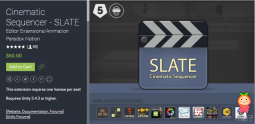 Cinematic Sequencer - SLATE 1.7.2 unity3d asset unity编辑器 unity论坛