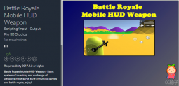 Battle Royale Mobile HUD Weapon 1.0 生存战斗游戏武器