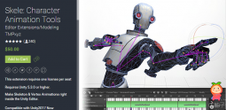 Skele Character Animation Tools 1.9.8 p1 unity3d asset U3D插件