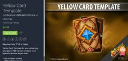 Yellow Card Template 1.0 图标素材